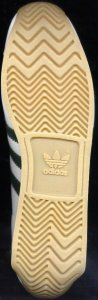 Sole of adidas Country sneaker