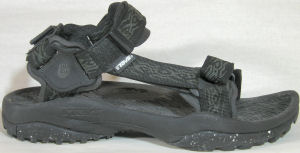 "Teva ""Terra-Fi"" sport sandal (all black)"