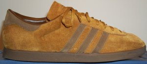 The adidas Tobacco in brown suede