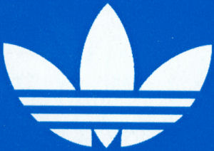 The adidas Trefoil ('POT LEAF') logo
