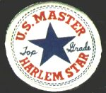"Ankle patch from ""U. S. Master 'Top Grade' Harlem Star"""